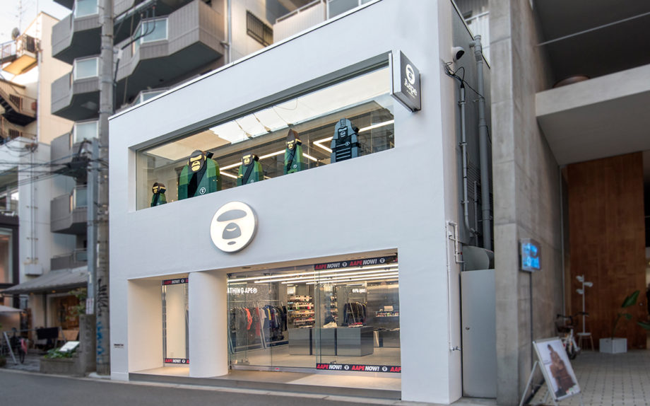 Aape大阪店