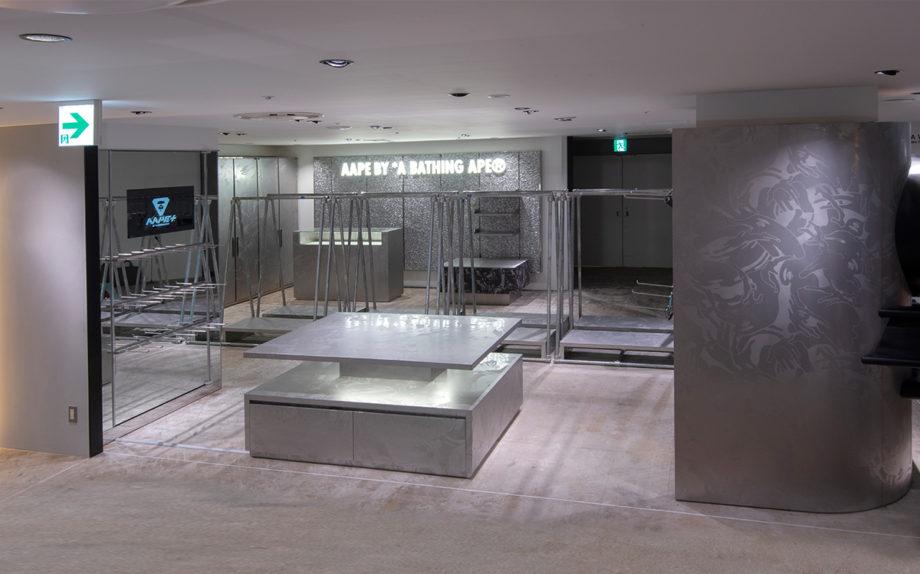 Aape阪急メンズ東京店